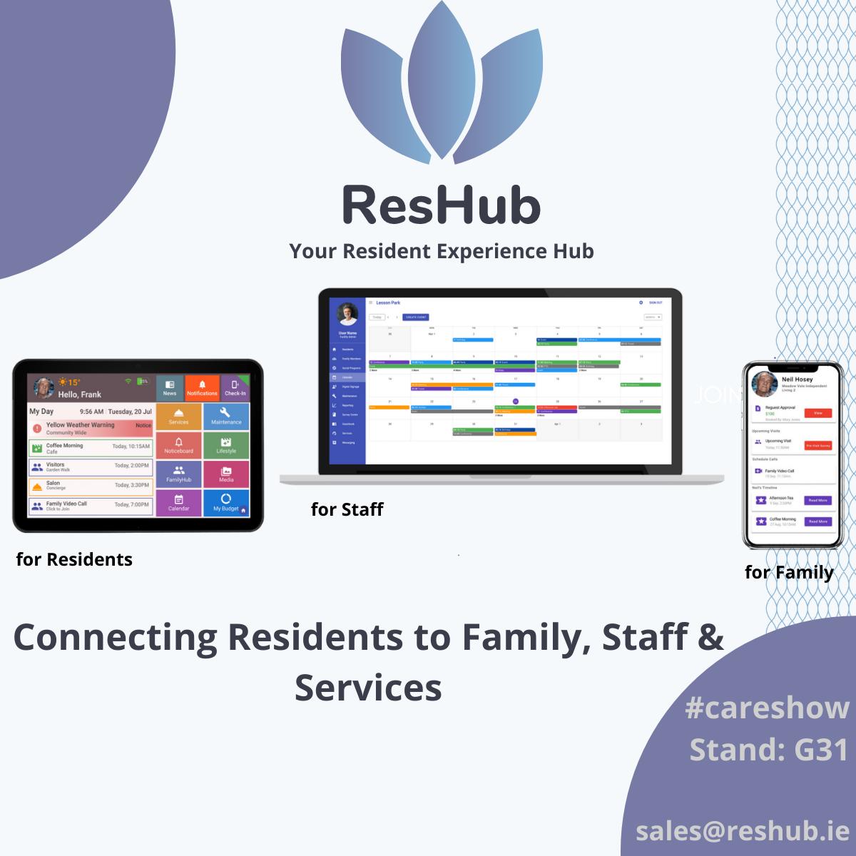 ResHub - Your Resident Experience Hub