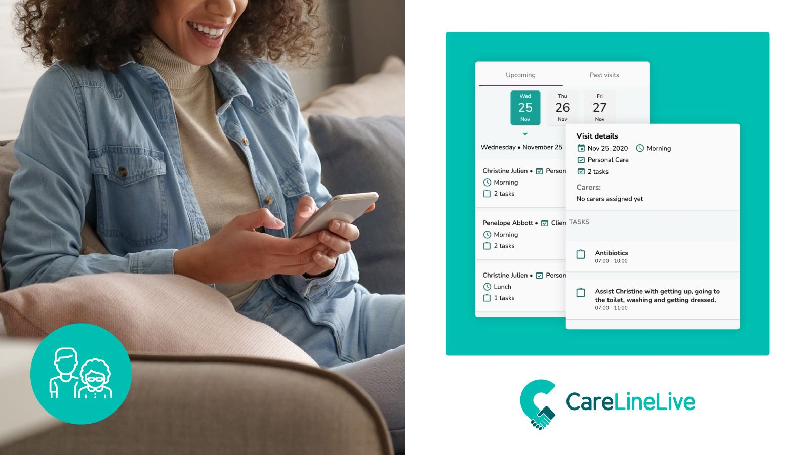 How CareLineLive has Reshaped Rostering in Home Care