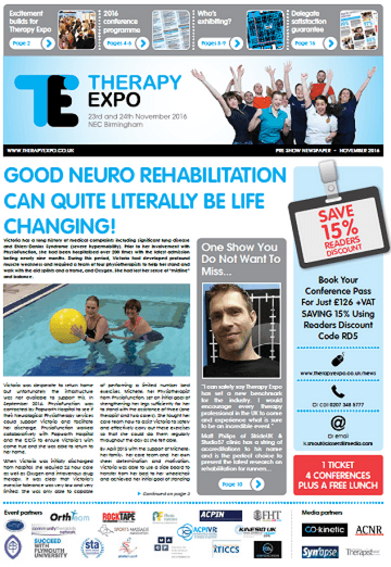 Therapy Expo Newspaper October 2016