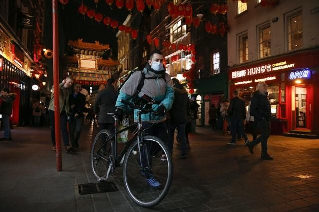 Deliveroo is struggling during the lockdown after restaurants closed their doors (Hollie Adams/PA)
