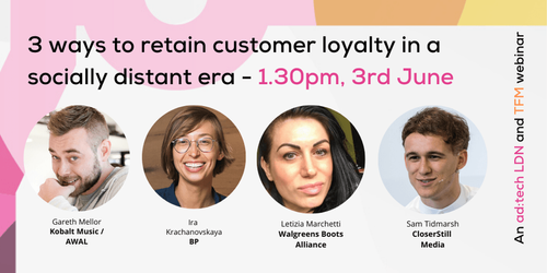 3 ways to retain customer loyalty in a socially distant era