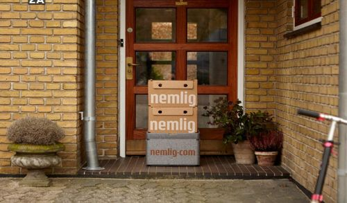 Denmark's online supermarket Nemlig reveal new delivery option - you don't even have to be at home
