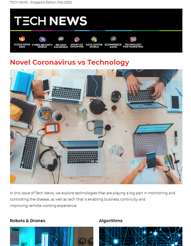 Novel Coronavirus vs Technology - Through the Tough Times and a Digital Touch to the Workplace