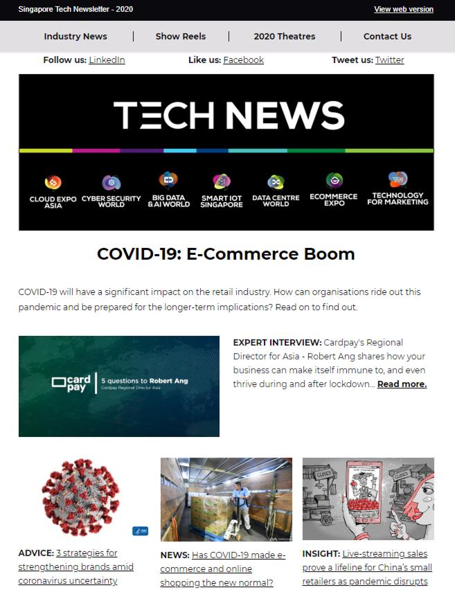 COVID-19: E-Commerce Boom