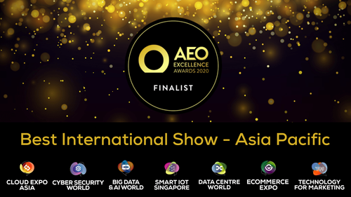 CloserStill Media shortlisted for AEO Excellence Awards, Best International Show - APAC