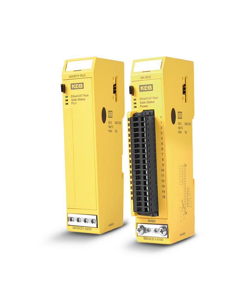 KEB's New Safety PLC & IO