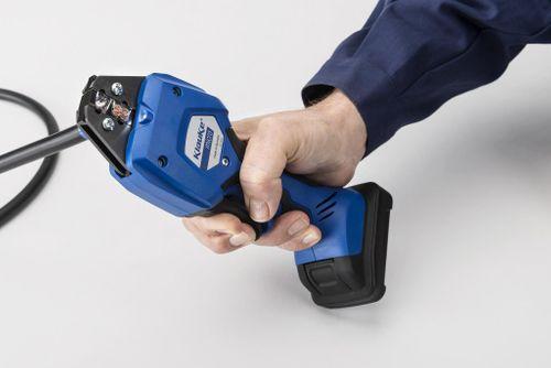 Micro crimping tool minimises industrial RSI