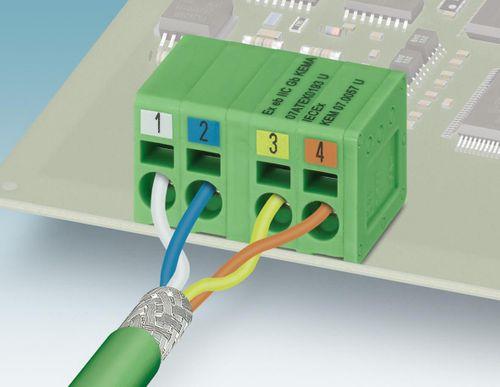 PCB terminal blocks for Profinet