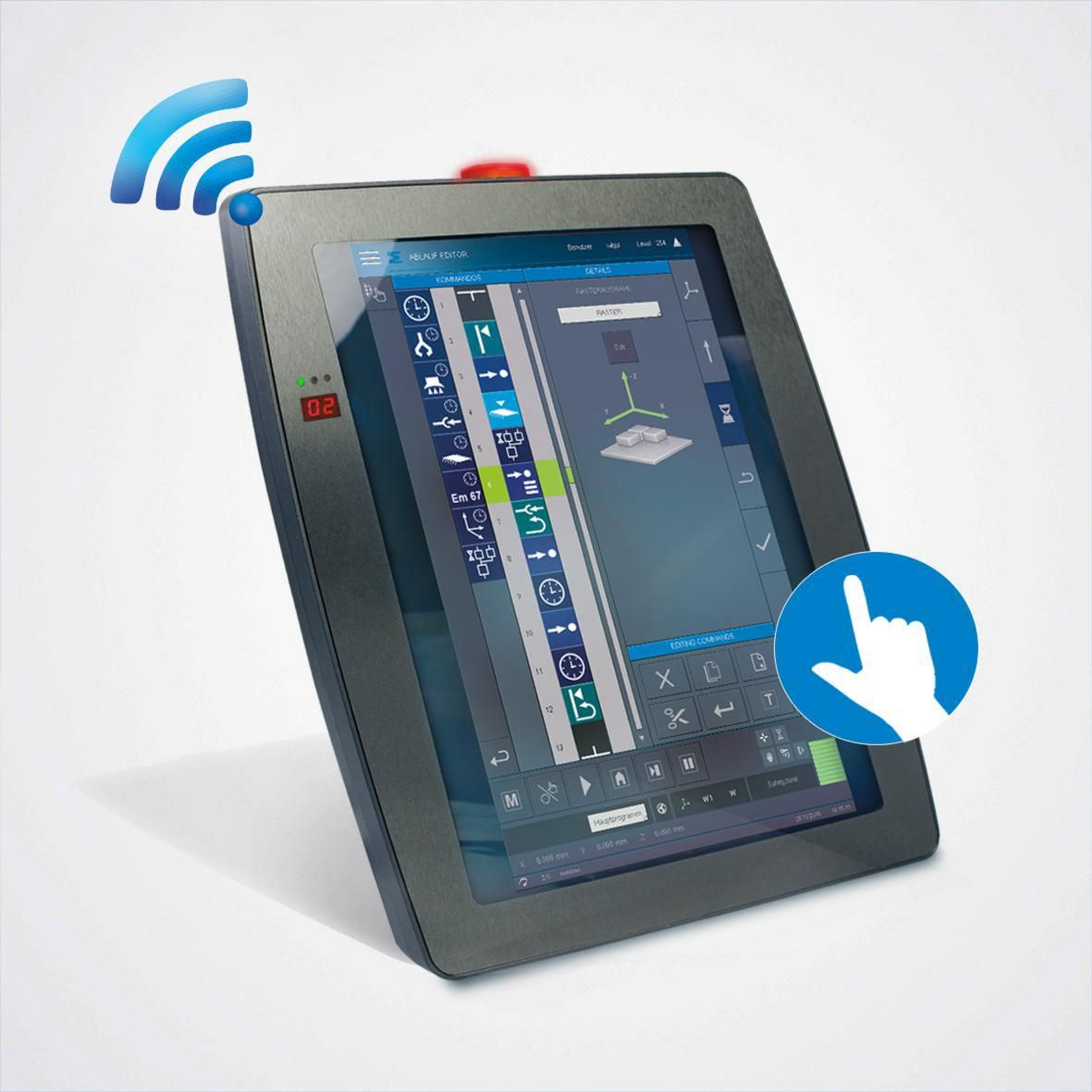 Wireless, Multi-touch & Safety Functions: The HGW 1033