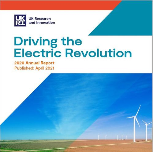 Driving the Electric Revolution challenge annual report
