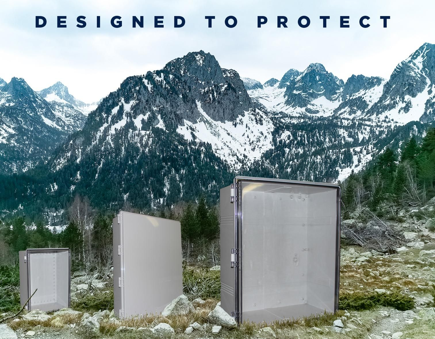 CamdenBoss presents the X Series electrical and electronic enclosures
