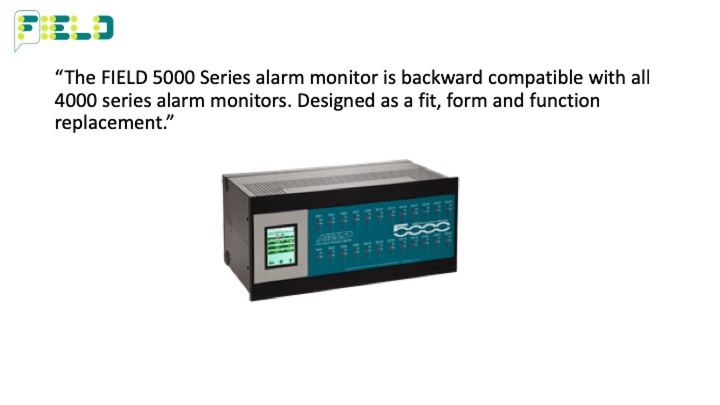 Field Electronics 5000 Series Alarm Monitor