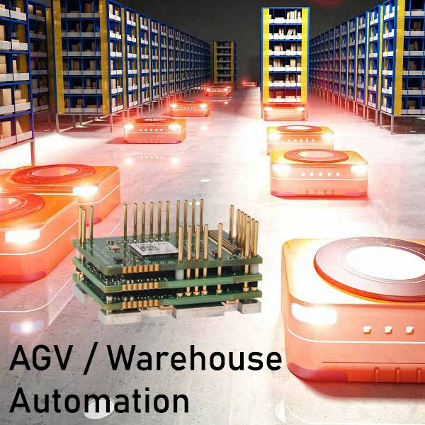 Warehouse Automation with AMC FlexPro Servo Drives