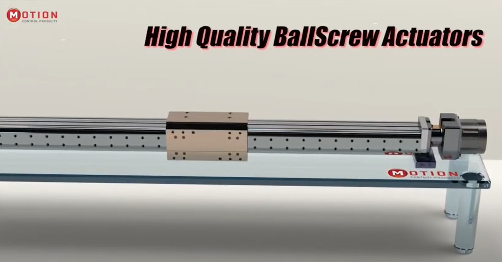 High Quality, Innovative Ball Screw Actuators