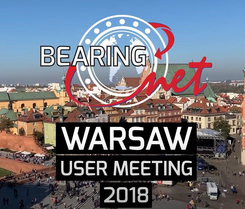 BearingNet User Meeting - Warsaw 2018