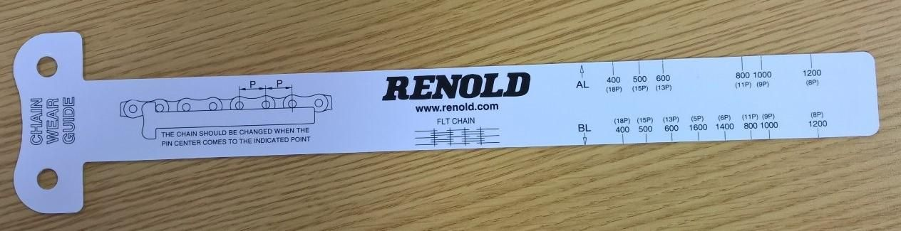 How To Use a Renold Chain Wear Guide