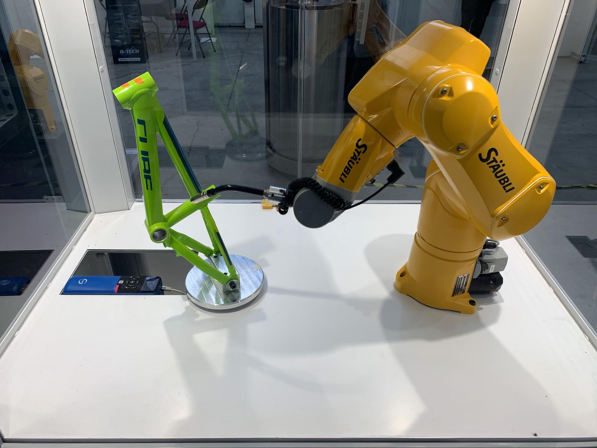 Stäubli Specifies STOBER Axes To Expand Robot Range