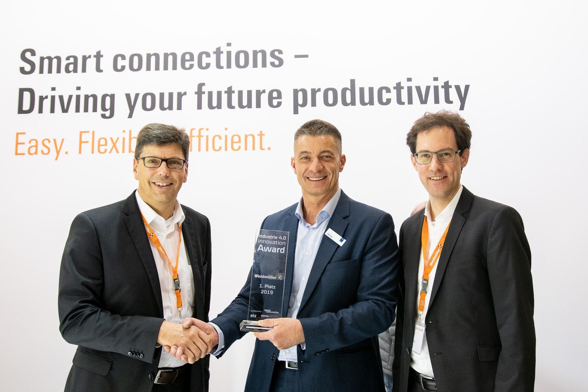 Weidmüller wins Industry 4.0 Innovation Award