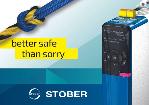 Play it safe with the STOBER SD6 drive controller