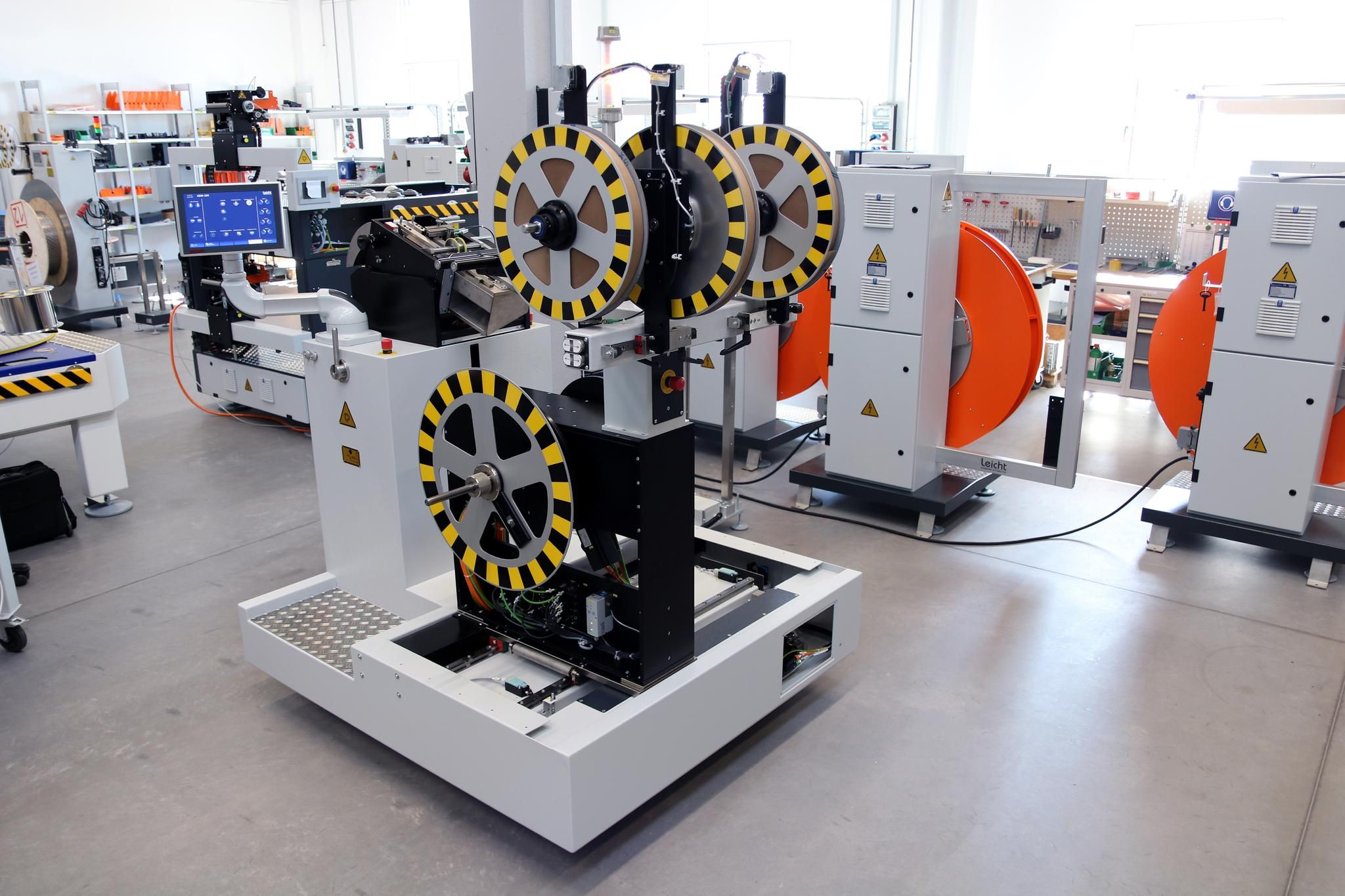STOBER SI6 compact drive controllers increase productivity of new generation winding machines