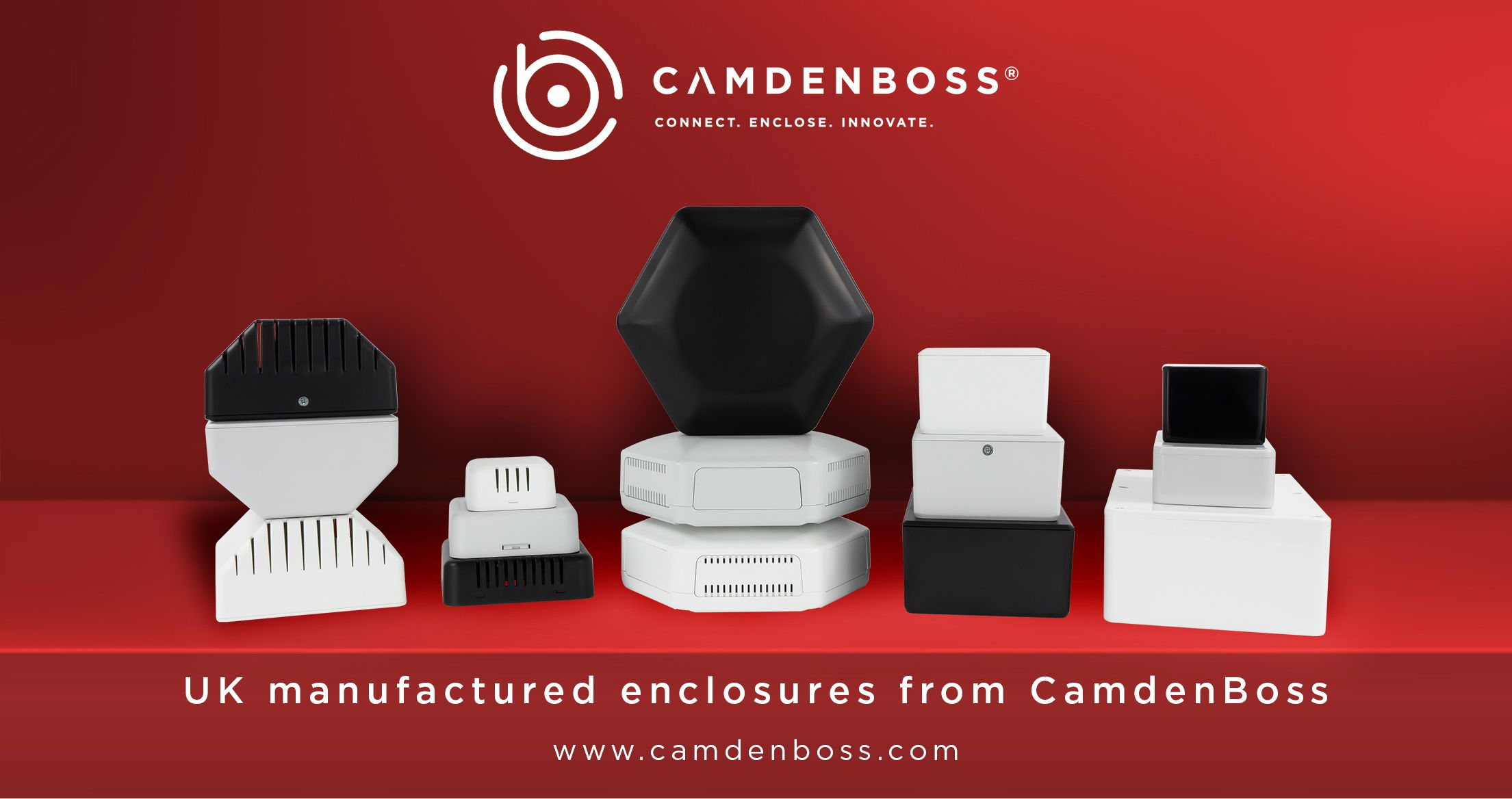 The latest electronic and electrical enclosure solutions from CamdenBoss
