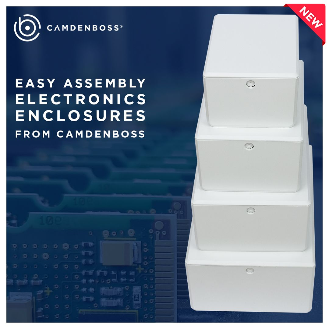 CamdenBoss launches the Easy Assembly Electronics Enclosure - more than just a standard box!