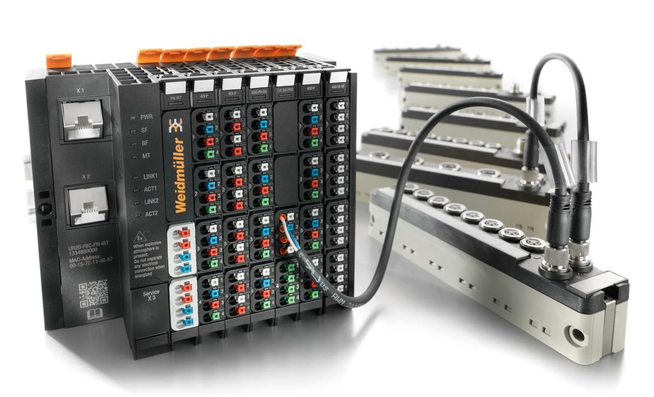 Weidmuller u-remote IP67 modules for Ethernet/IP, EtherCAT and PROFINET