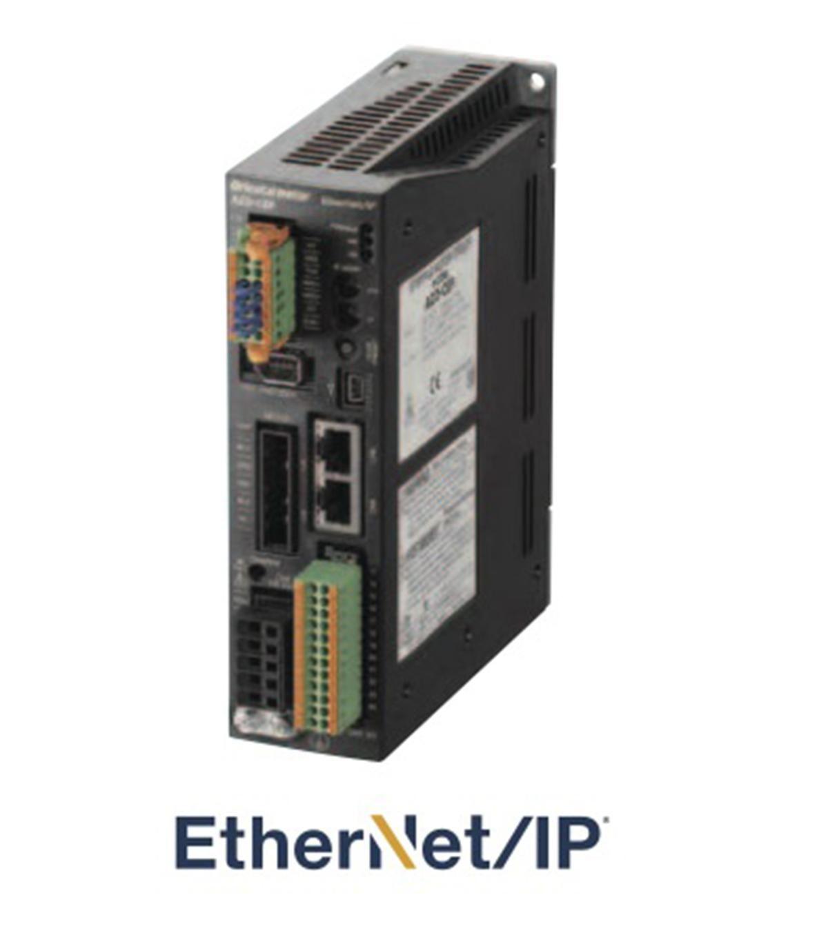 New Ethernet IP driver communications for Oriental Motor's AZ Series of Closed Loop Stepper Motors
