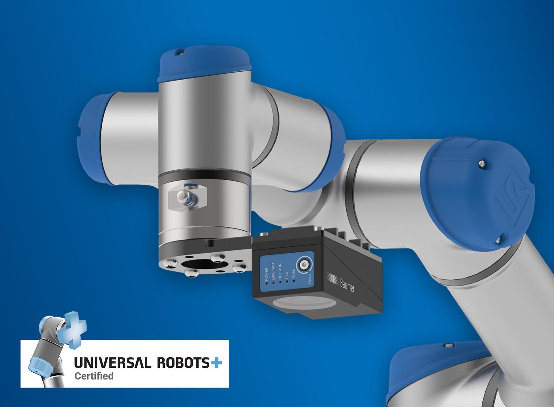 Easier than ever before: VeriSens vision sensors control Universal Robots