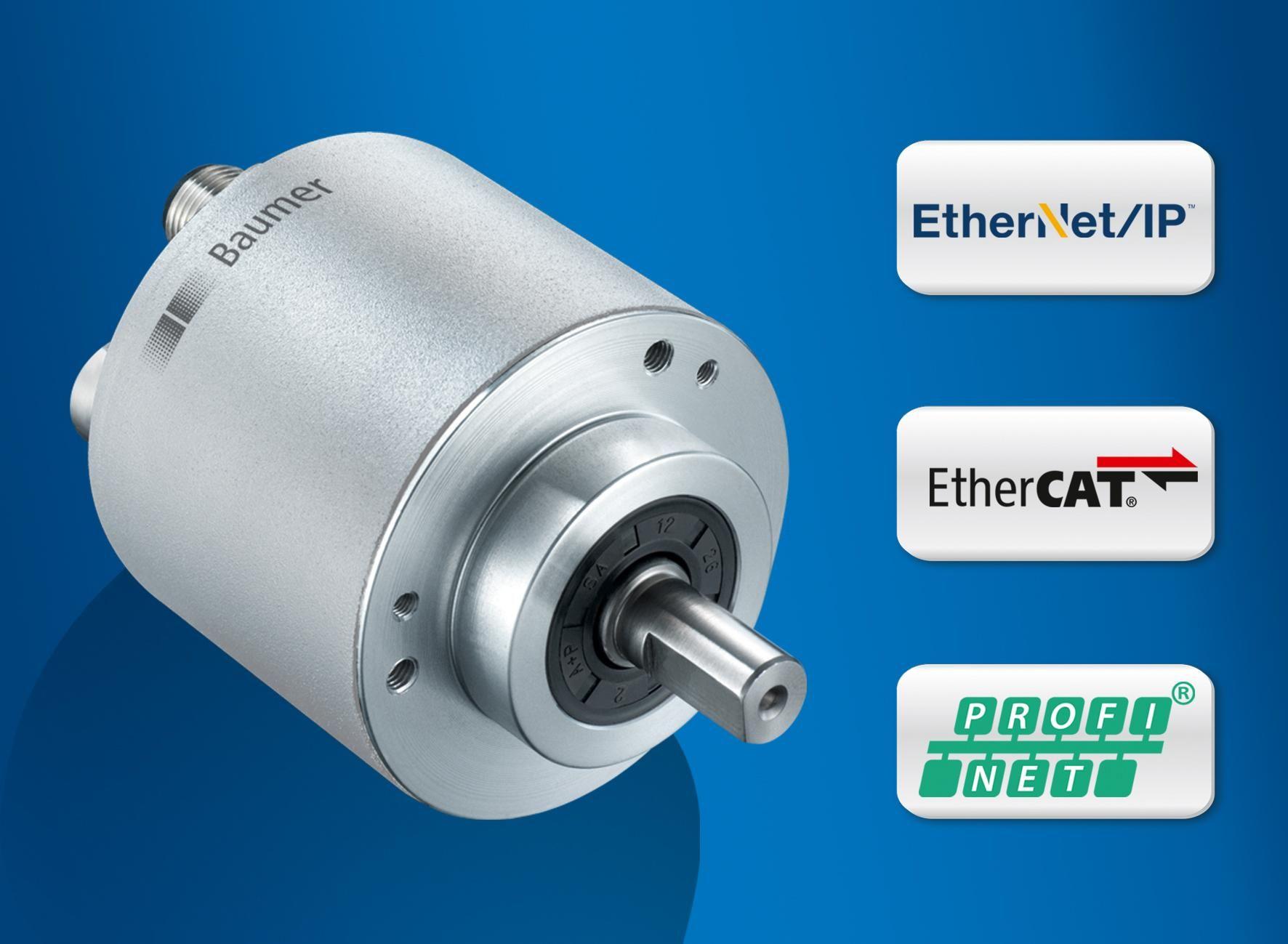 Baumer magnetic encoders: Precise, robust and enhancing efficiency