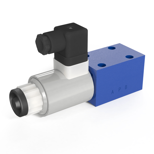 Directional control valves with solenoid actuation size 6