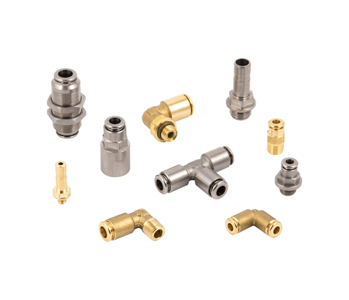 Series F-E_Series F-NSF push-in fittings for use in the food industry