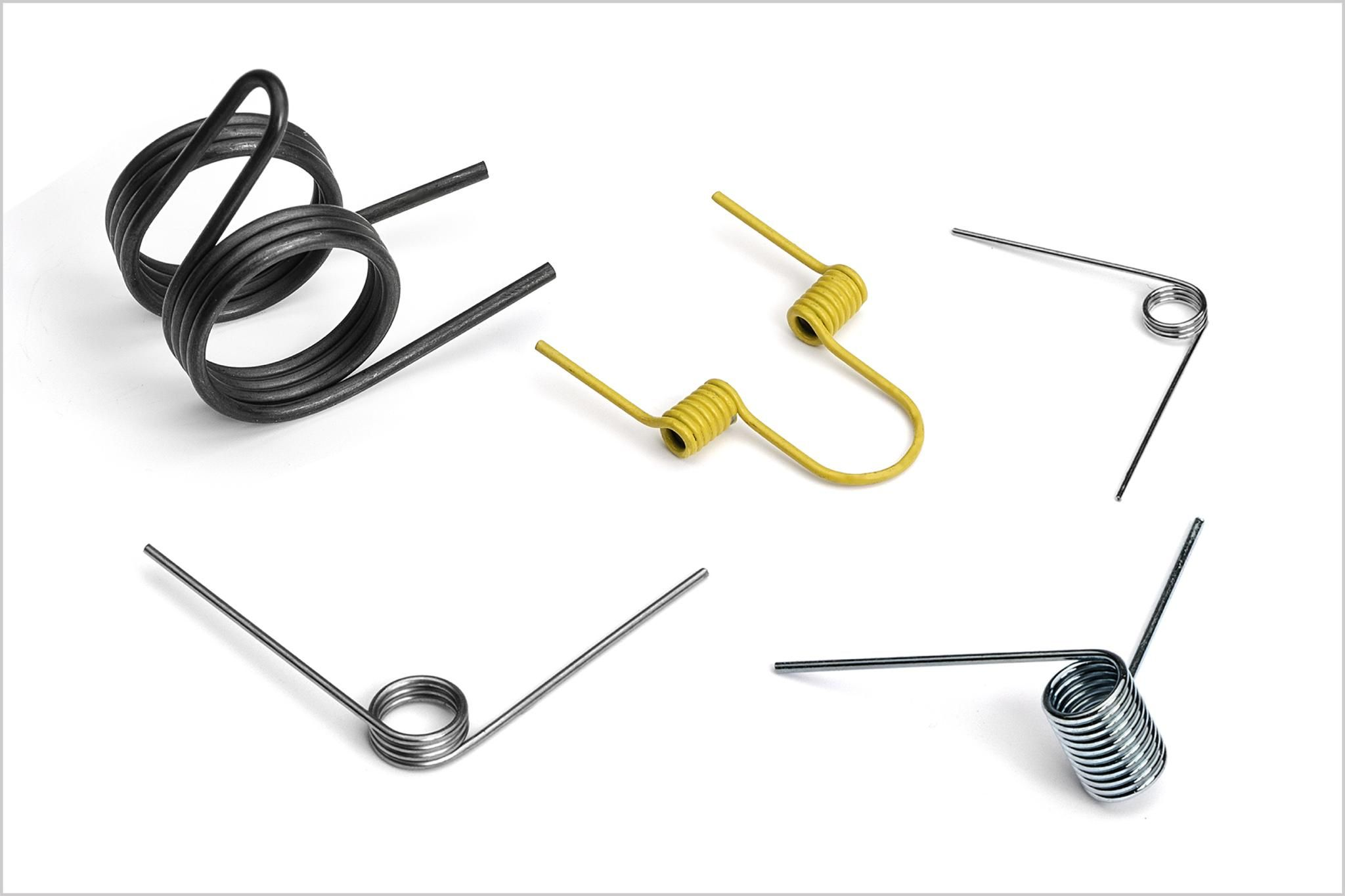 Torsion Springs offer axial energy and control - from Lee Spring