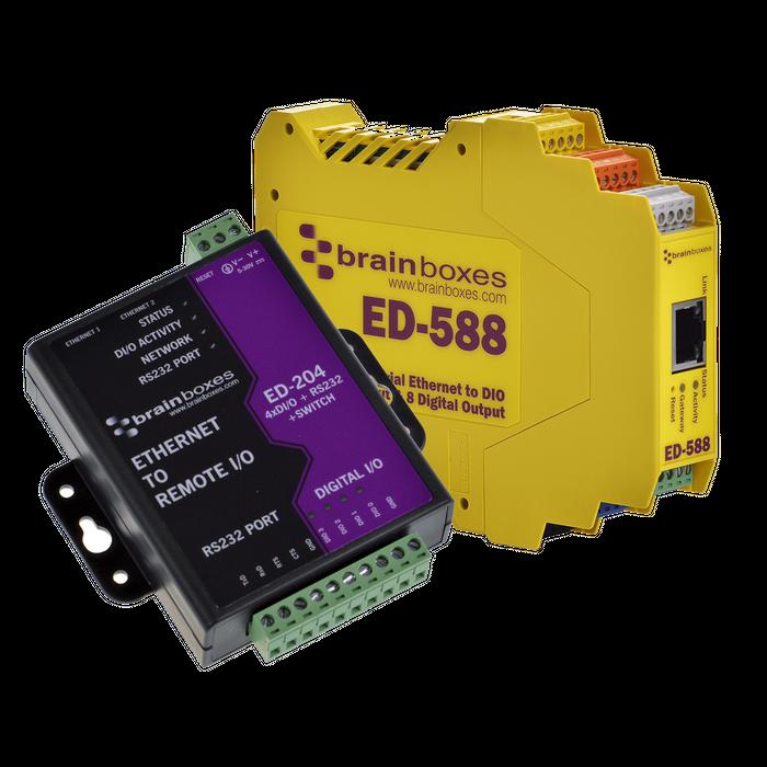 Remote I/O - Ethernet I/O modules for Monitoring, Control & Automation