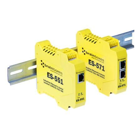 Ethernet to Serial - Send RS232 or RS422/485 serial data over the network