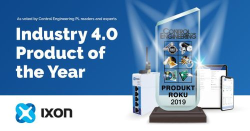 IXON Cloud wins Control Engineering's prestigious Industry 4.0 Award