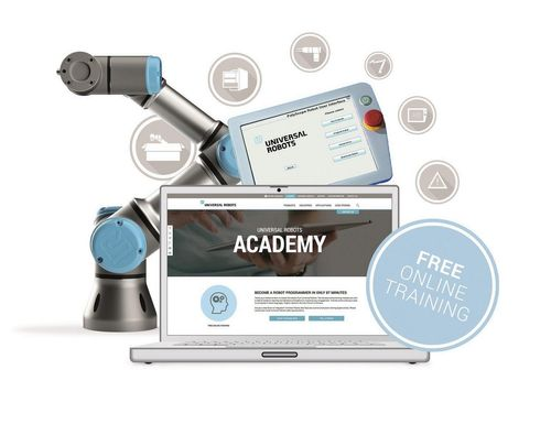 Universal Robots expands unique online Academy, offering free interactive modules in robotics programming