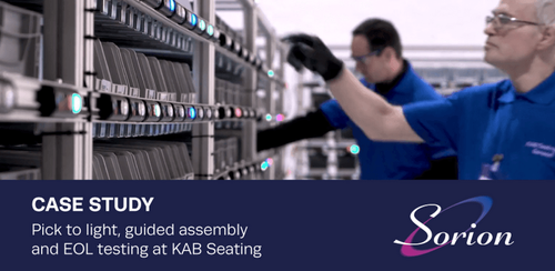 Case Study - Sorion technologies boost efficiency at KAB Seating