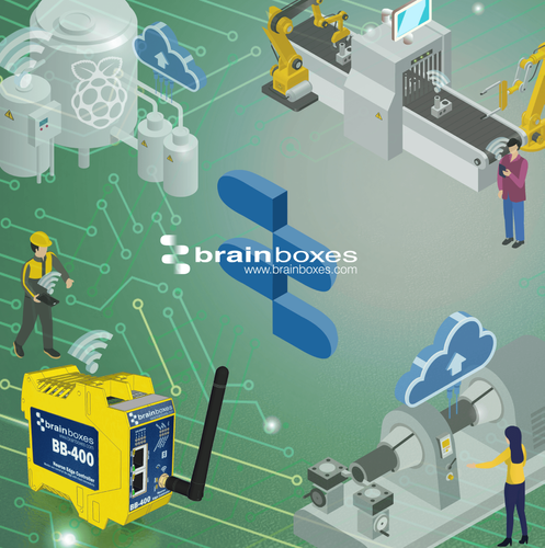 Sense, Sort & Send Machine Data with Brainboxes Industrial Edge Controller