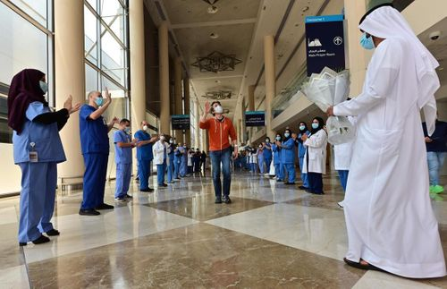 Coronavirus: Dubai World Trade Centre field hospital discharges final Covid-19 patient