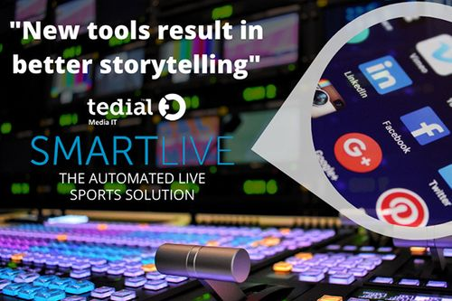 Tedial announces SmartLive and Hybrid Cloud tech for remote operations