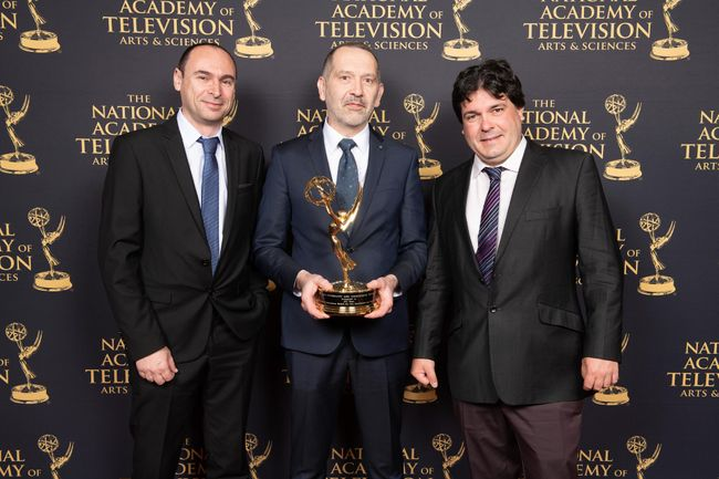 A second prestigious Technology and Engineering Emmy® Award for AVIWEST