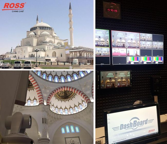 Sharjah Grand Mosque Inspires with Ross Video & Broadcast Solutions ME