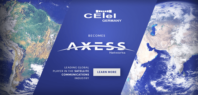 CETel and Axesat become AXESS Networks