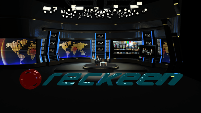 Reckeen Redefines 3D Virtual Studio and Multicam Productions for NAB 2019