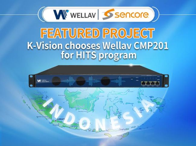 Featured Project | K-Vision chooses Wellav CMP201 for HITS program