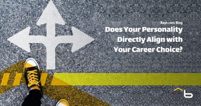 Does Your Personality Directly Align with Your Career Choice?