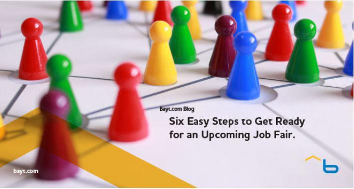 Six Easy Steps to Get Ready for an Upcoming Job Fair