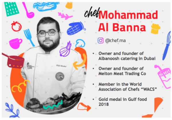 Pursue your passion and break the norms – The story of Emirati celebrity chef Mohammed Al Banna