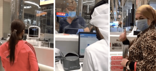 Video: Safe and warm welcome as first tourists land in Dubai